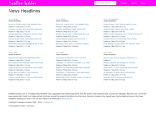 headlinegrabber.com screenshot