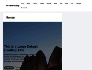 headlinesbay.com screenshot