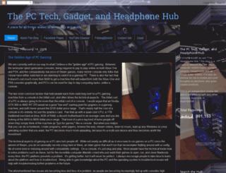 headphonehub.blogspot.dk screenshot