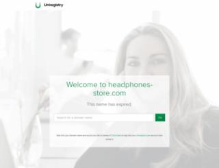headphones-store.com screenshot