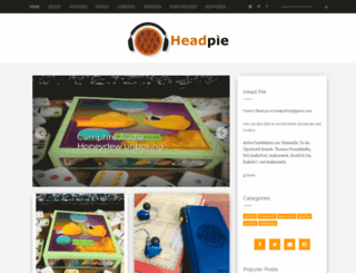 headpie.blogspot.ro screenshot