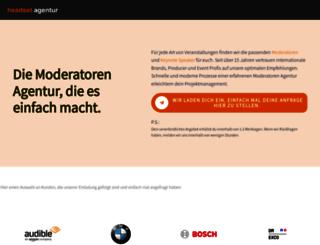headsetagentur.de screenshot