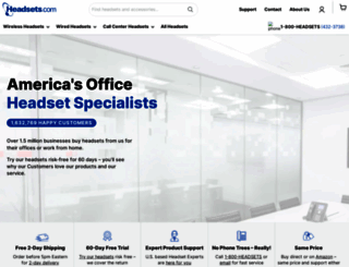 headsets.com screenshot