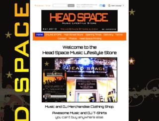 headspacestores.com screenshot