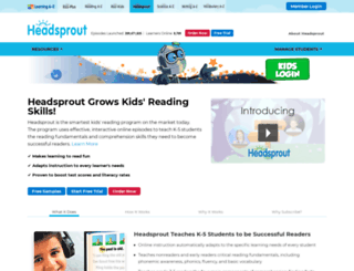 headsprout.com screenshot