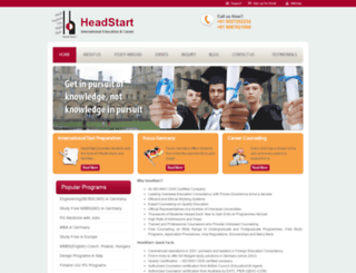 headstart.co.in screenshot