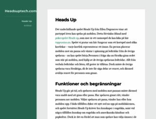 headsuptech.com screenshot
