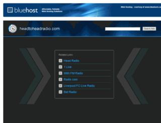 headtoheadradio.com screenshot