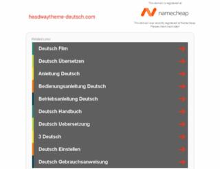 headwaytheme-deutsch.com screenshot