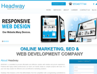 headwaywebsolutions.com screenshot