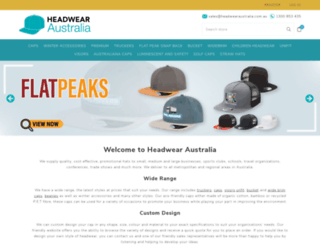 headwearaustralia.com.au screenshot