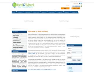 heal-wheel-india.com screenshot