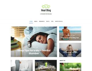 healblog.net screenshot