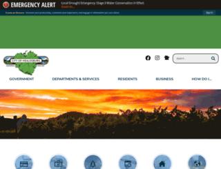 healdsburgparksandrec.org screenshot