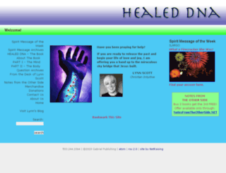 healeddna.com screenshot