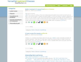 healfactor.ru screenshot