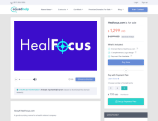 healfocus.com screenshot