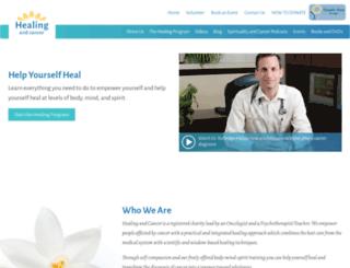 healingandcancer.org screenshot