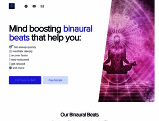 healingbeats.com screenshot