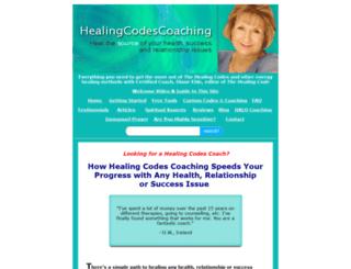 healingcodescoaching.com screenshot