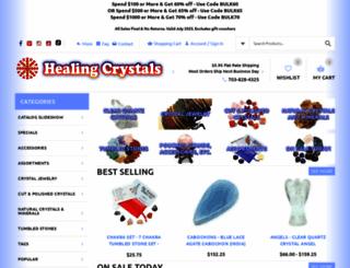 healingcrystals.com screenshot