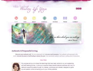 healinglifeyoga.com screenshot