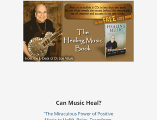 healingmusicbook.com screenshot