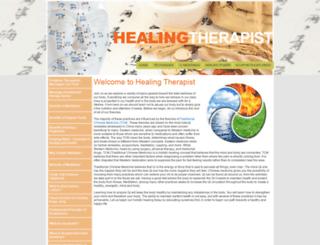 healingtherapist.com screenshot