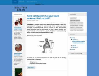 health-and-relax.blogspot.se screenshot