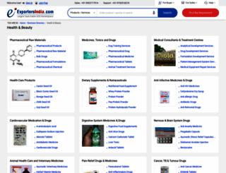 health-beauty.exportersindia.com screenshot