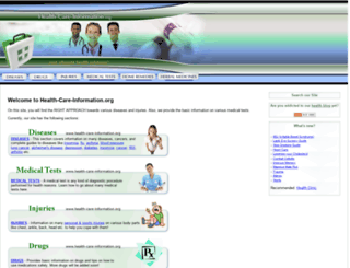 health-care-information.org screenshot