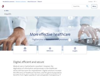 health-connect.ch screenshot