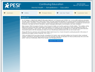 health-ed.com screenshot