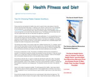 health-fitness-and-diet.blogspot.com screenshot