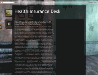health-insurance-desk.blogspot.com screenshot