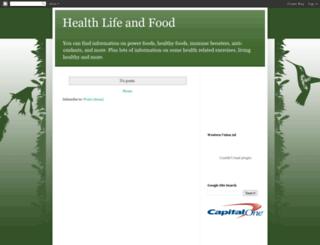 health-life-food.blogspot.com screenshot