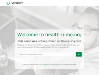 health-n-me.org screenshot