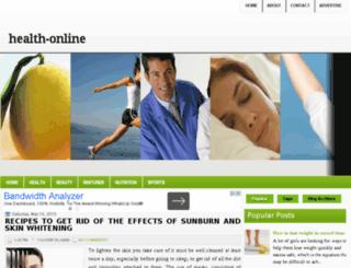 health-online2014.blogspot.com screenshot