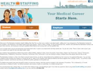 health-staffing.com screenshot