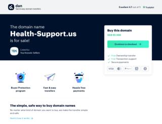 health-support.us screenshot