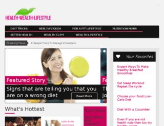 health-wealth-lifestyle.com screenshot