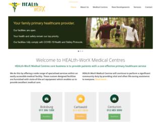 health-worx.co.za screenshot