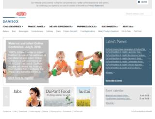health.danisco.com screenshot
