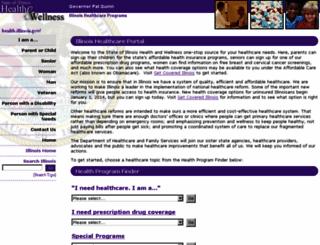 health.illinois.gov screenshot