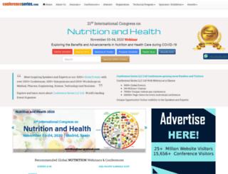 health.nutritionalconference.com screenshot