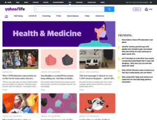 health.yahoo.net screenshot