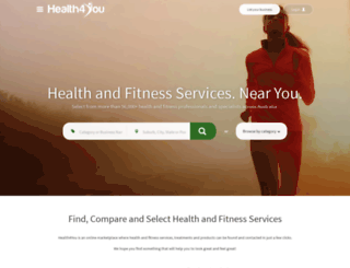 health4you.com.au screenshot