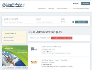 healthadministrationnationwide.com screenshot