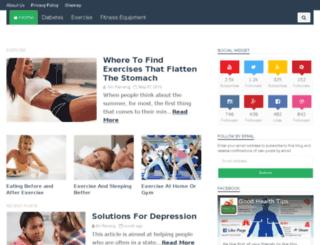 healthadvicebase.com screenshot