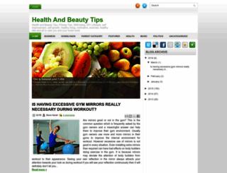 healthandbeautytipss.blogspot.com screenshot